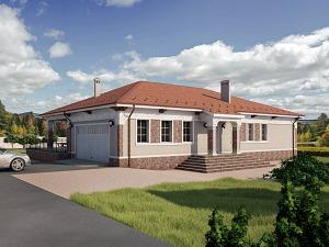 Проект одноэтажного дома №049.01