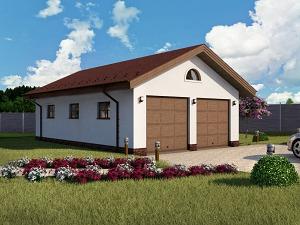 Проект гаража №050.01