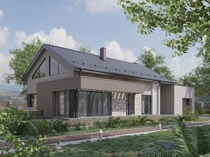 Проект одноэтажного дома № 054.01