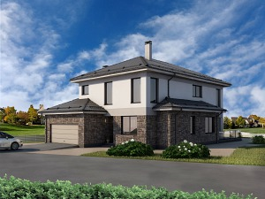Проект дома № 055