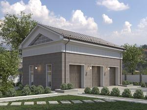 Проект гаража № 058.01