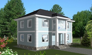 Проекты домов из газобетона