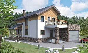 Проекты домов с мансардным этажом