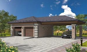 Проекты гаражей и навесов