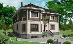 Проекты домов комбинированного типа